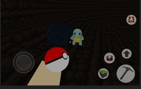 Pixelmon : craft and world mod PE screenshot 3