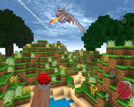 Pixelmon : craft and world mod PE screenshot 2