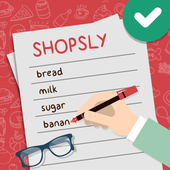 Shopsly - Grocery list icon