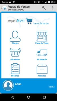 expertMóvil Fuerza de Ventas poster