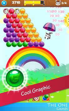 🎠 Bubble Rainbow Shooter PUZZLE FREE Match 3 🎠 screenshot 2