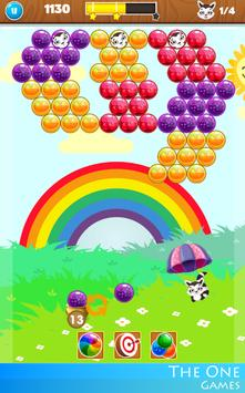 🎠 Bubble Rainbow Shooter PUZZLE FREE Match 3 🎠 screenshot 4