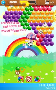 🎠 Bubble Rainbow Shooter PUZZLE FREE Match 3 🎠 screenshot 7