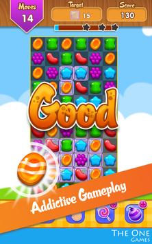 🐝 Candy Cute Toy FREE PUZZLE Match 3 Mania 🐝 screenshot 1