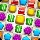 🍪 Candy Match 3 Jelly Wild West Garden FREE Blast icon