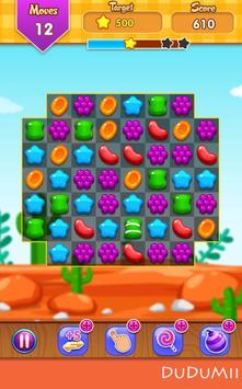 🍪 Candy Match 3 Jelly Wild West Garden FREE Blast screenshot 7