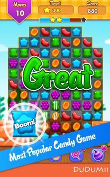 🍪 Candy Match 3 Jelly Wild West Garden FREE Blast poster