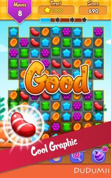🍪 Candy Match 3 Jelly Wild West Garden FREE Blast screenshot 2