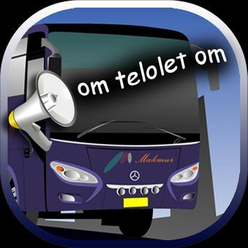 Telolet Klakson All PO Bus poster