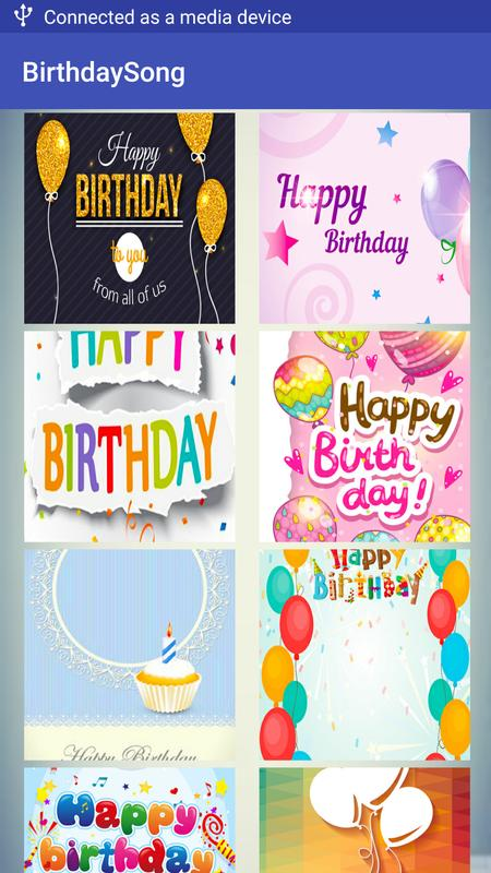 Birthday song maker happy birthday greeting card for android apk birthday song maker happy birthday greeting card screenshot 10 m4hsunfo