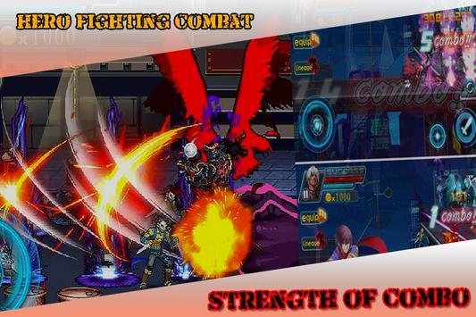 Hero Fighting Combat poster