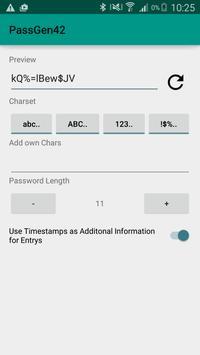 PassGen42 apk screenshot