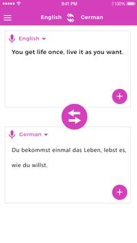 English To German Translator screenshot 1