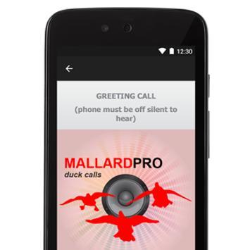 Duck hunting calls duck calls apk download free sports app for duck hunting calls duck calls poster m4hsunfo