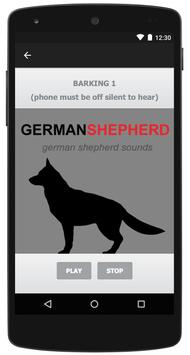 German Shepherd & Dog Barking screenshot 1