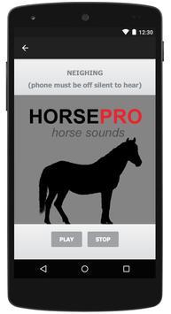 Horse Sounds & Equine Sounds apk screenshot