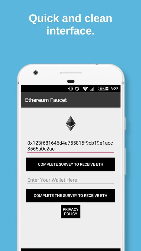 Free Ethereum Faucet - Ethereum Miner for Android - APK Download