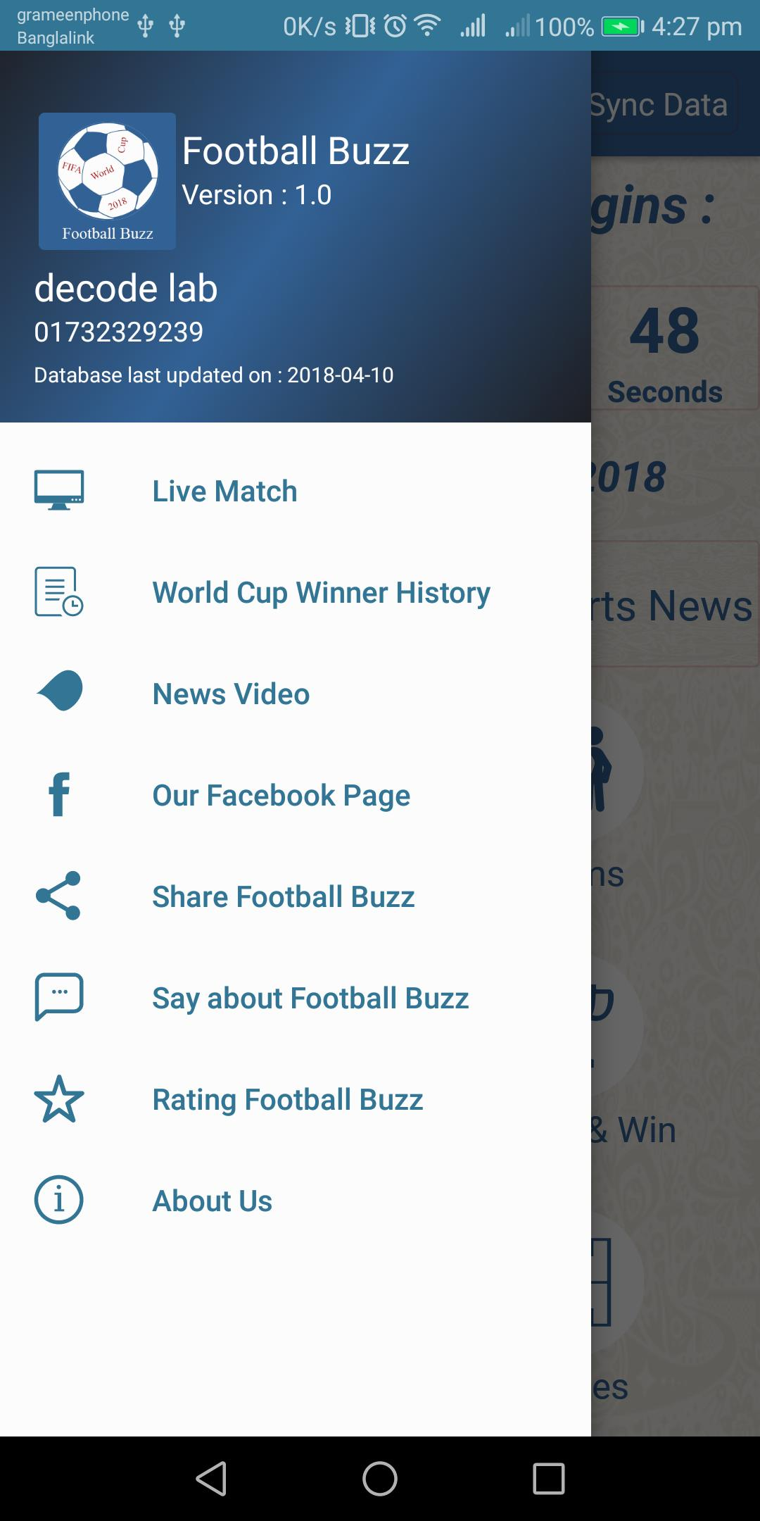 Football Buzz(Football World Cup 2018 Russia ) for Android