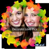 Decorate Love Pics icon