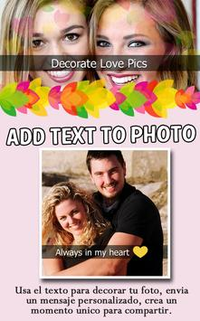 Decorate Love Pics poster