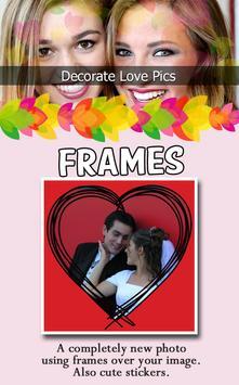 Decorate Love Pics apk screenshot