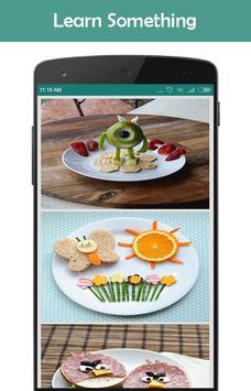 Creative Ideas For Food apk screenshot