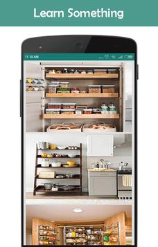 Kitchen Storage Ideas poster