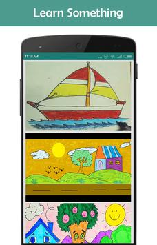 scenery drawing app poster