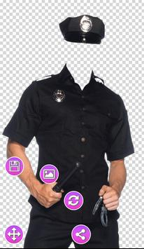 Full Police Uniform Photo Frames poster