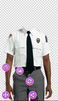 Full Police Uniform Photo Frames screenshot 1