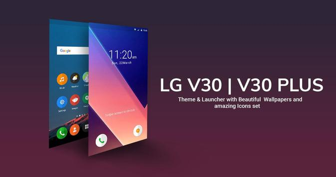 Theme For Lg V30 Launcher Live Wallpapers Apk App Free