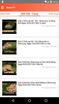 GameTV , AOE , Đế chế screenshot 2