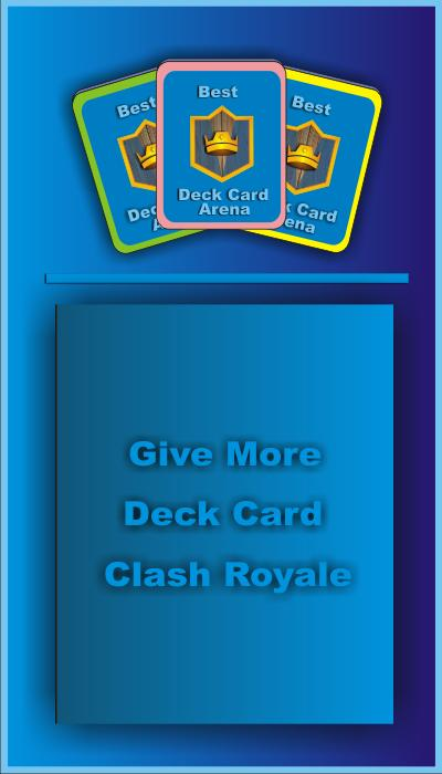 Card For Clash Royale Arena poster