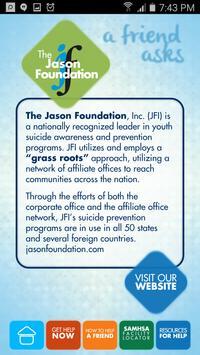 Jason Foundation A Friend Ask screenshot 1