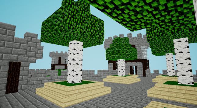 Happy Craft - Batman Castle games screenshot 1