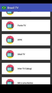 My Brazil TV Info screenshot 1