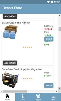 Deans Store apk screenshot