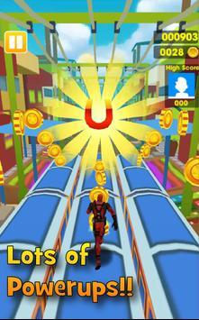 Adventure of DeadPool Hero Run 3D screenshot 1