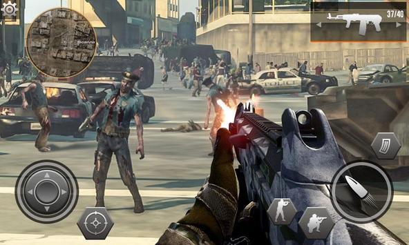 Dead Zombie Sniper Assassin Shooter 3D screenshot 1