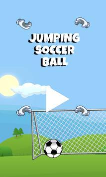 Jumping Soccer Ball poster