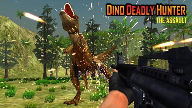 Dino Deadly Hunter Assault: Dinosaur Hunting Game apk screenshot