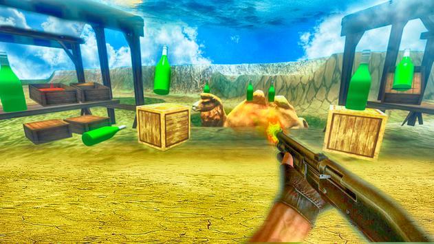 Bottle shooting Master-Deadly apk screenshot