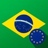 Brazilian Real BRL to Euro EUR icon