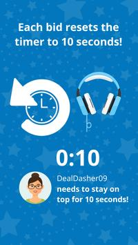 DealDash: Bid, Save, Win & Shop Deals and Auctions apk screenshot