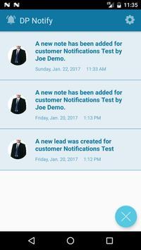 DP Notify screenshot 1