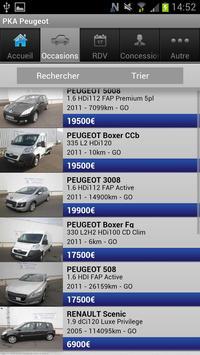 Peugeot PaulKROELY Automobiles apk screenshot