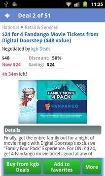 Dealleak-The Daily Deal Portal apk screenshot