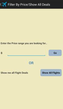 FlightDeals screenshot 2