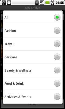 Dealshelve apk screenshot
