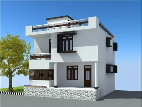 House Design 3D poster